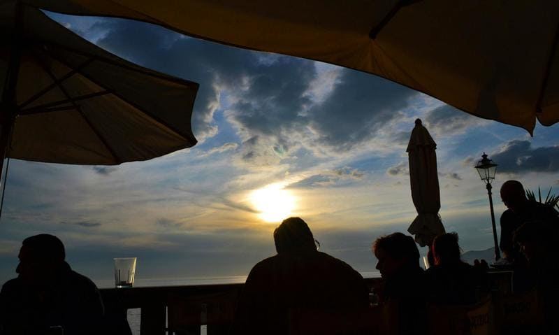 Aperitivo e ristoranti a Camogli.