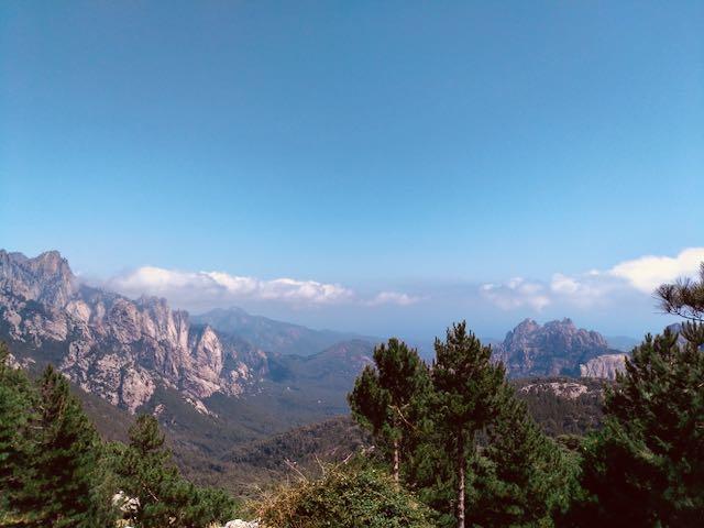 Panorama dal Col di Bavella, Corsica