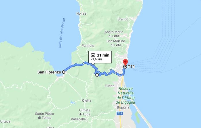 Itinerario in Corsica: da Saint Florent a Bastia passando sul Col de Teghime