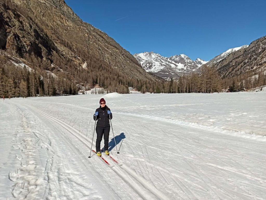 Piste sci di fondo nel Parco Nazionale del Gran Paradiso
