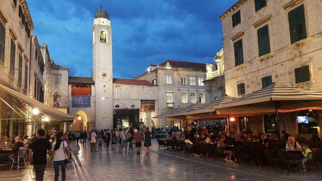 Piazza della Loggia e Torre dell'Orologio, Dubrovnik