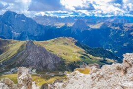 Dolomiti, Passo Pordoi