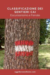 Escursionismo e ferrate - Classificazione sentieri CAI