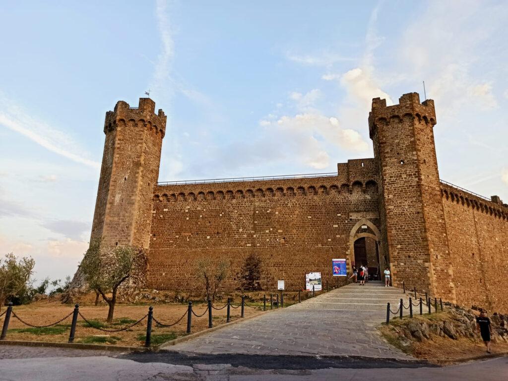 Fortezza di Montalcino, Val d'Orcia