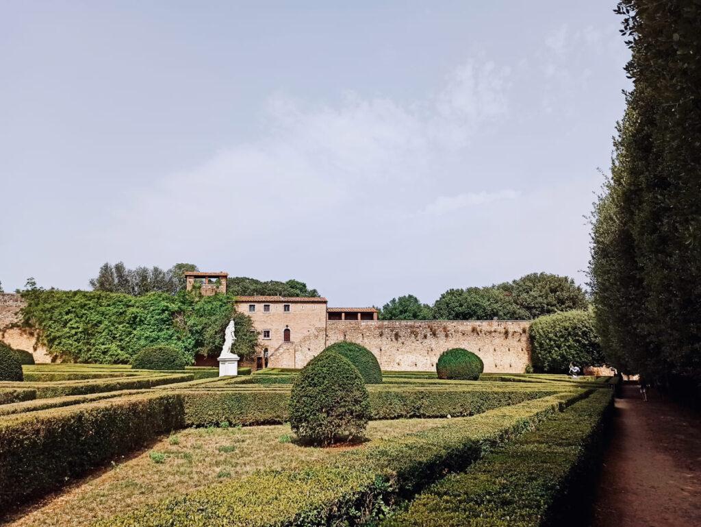 Giardini Horti Leonini di San Quirico d'Orcia, Val d'Orcia