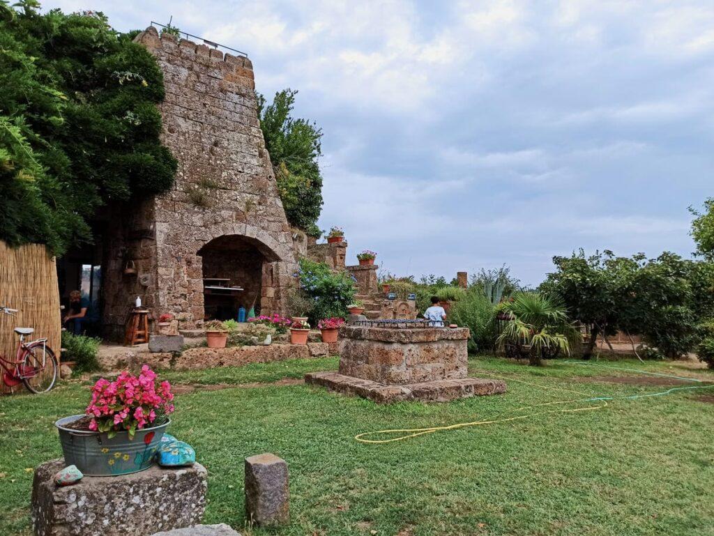 Il Giardino del Poeta, Civita di Bagnoregio